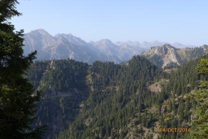 View to western Ágrafa