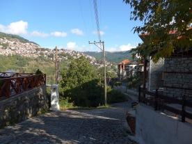 Anílio: start of path to Métsovo