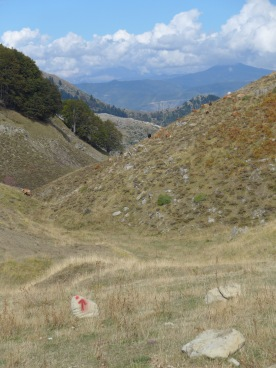 Hodja's ridge: descent to Hodja's sheepfold